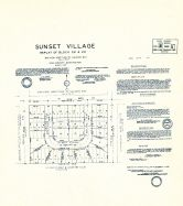 Sunset Village - Replat of Block 22 and 29, King County 1945 Vols 1 and 2